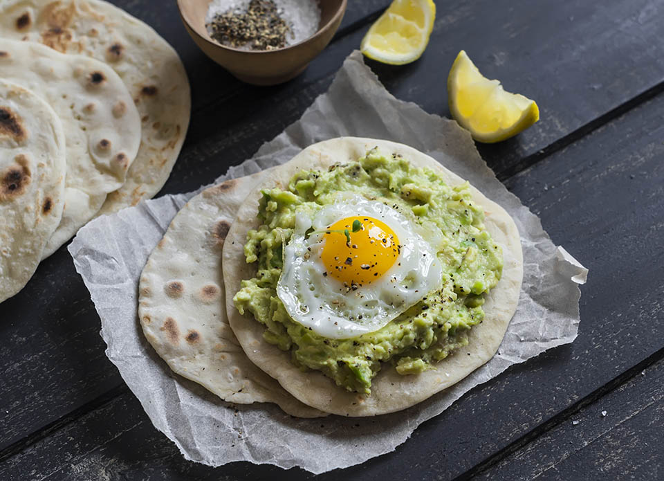 Don't Forget about Wraps for an Easy Breakfast Idea