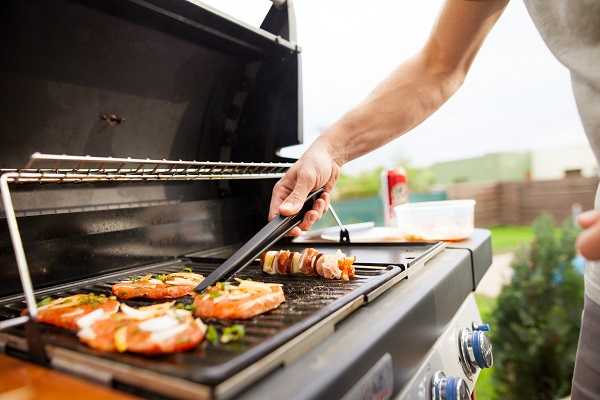 Gas grills are an easy to use and efficent way to grill outside year round.