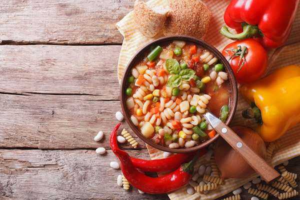 7-Vegetable Minestrone Soup Recipe