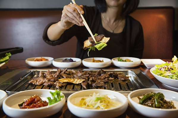 3 Course Meal Plan - A Korean BBQ