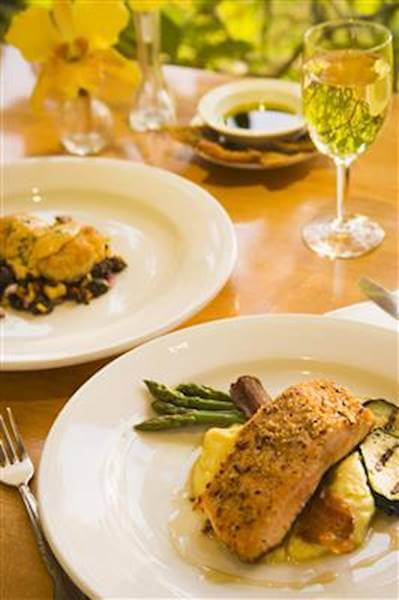 Alaskan Salmon With A Crunchy Pecan Topping Recipe