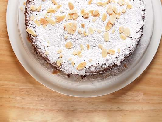 Almond-Chocolate Torte Recipe