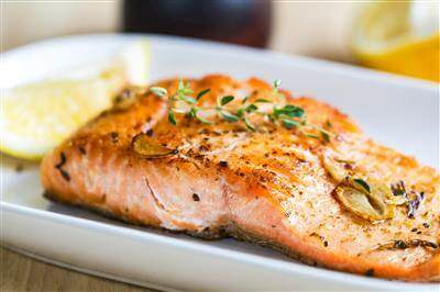 Anchovy-Grilled Salmon Steaks Recipe