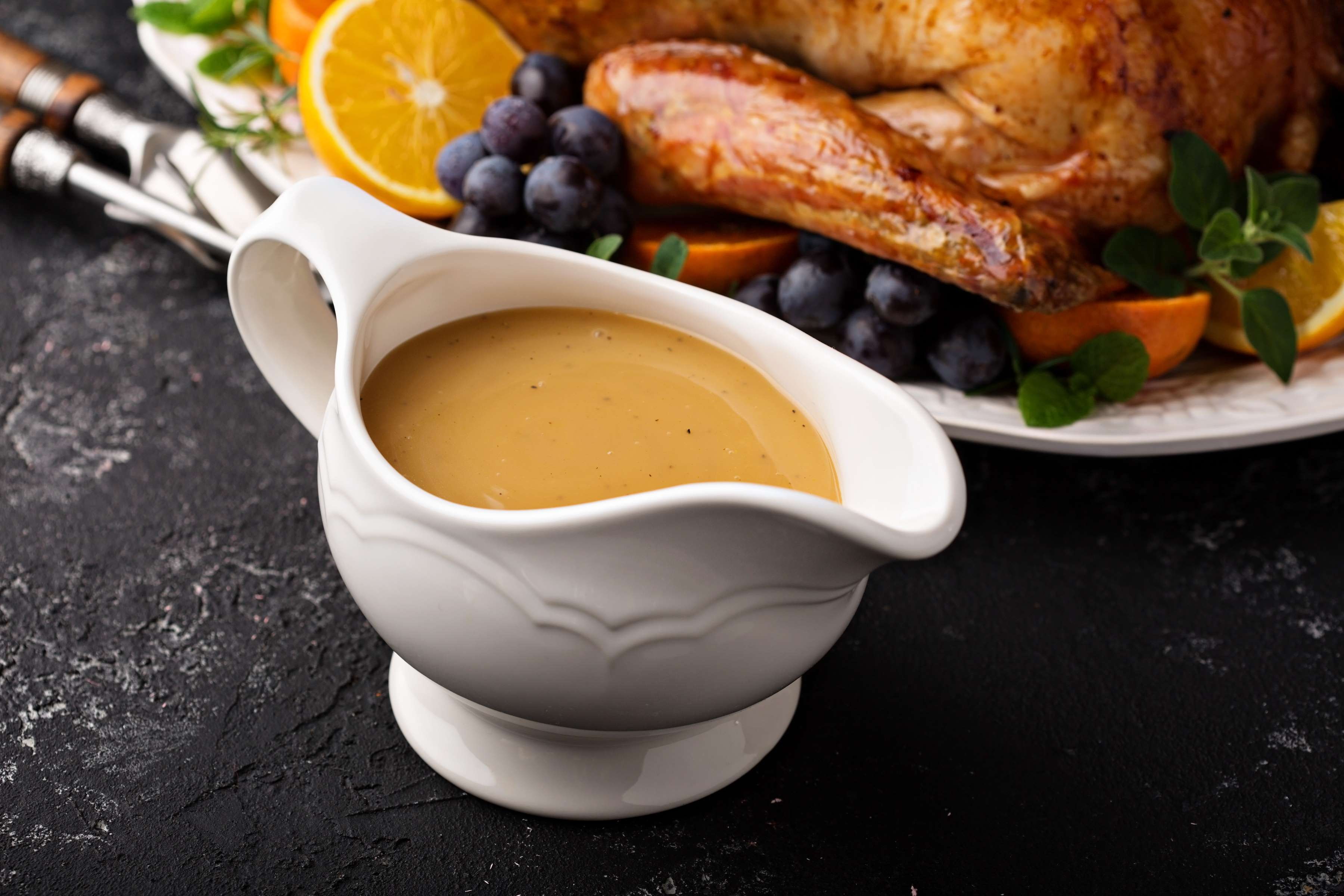 Apple Cider Turkey Gravy Recipe | CHEFBear.net