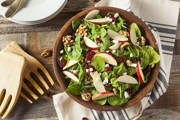 Recipe For Apple Spinach Salad