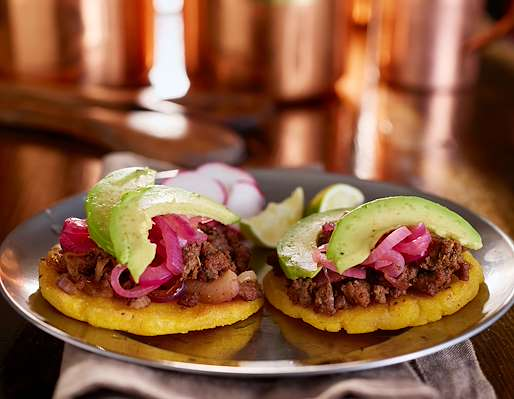 RecipeSavants - Arepa Ground Beef Filling