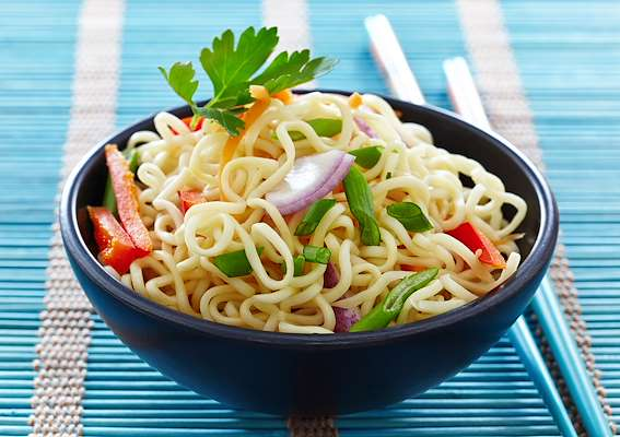 Asian Garlic Noodles Recipe