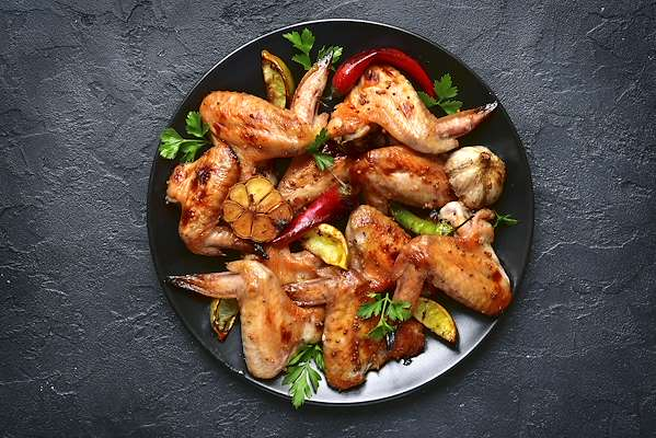 Asian Pepper Chicken Wings Recipe