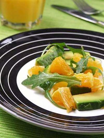 RecipeSavants - Avocado-Orange Salad