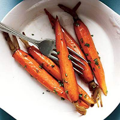 Baby Glazed Carrots Recipe
