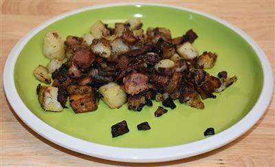 Bacon Fried Potatoes Recipe