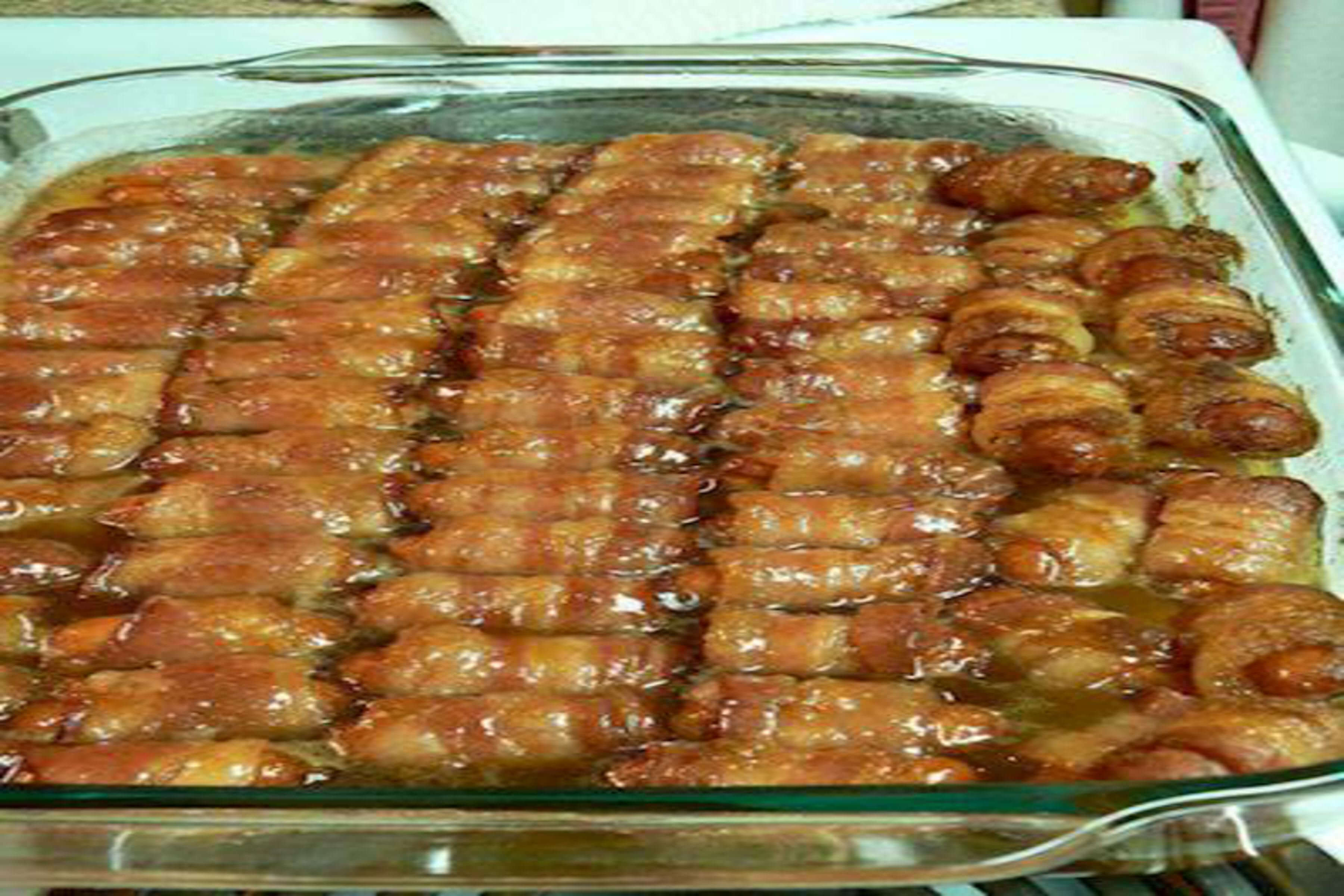Bacon Wrapped Smokies Recipe | RecipeSavants.com
