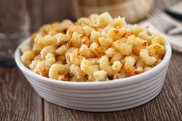 Recipe Savants - Baked Homemade Mac and Cheese