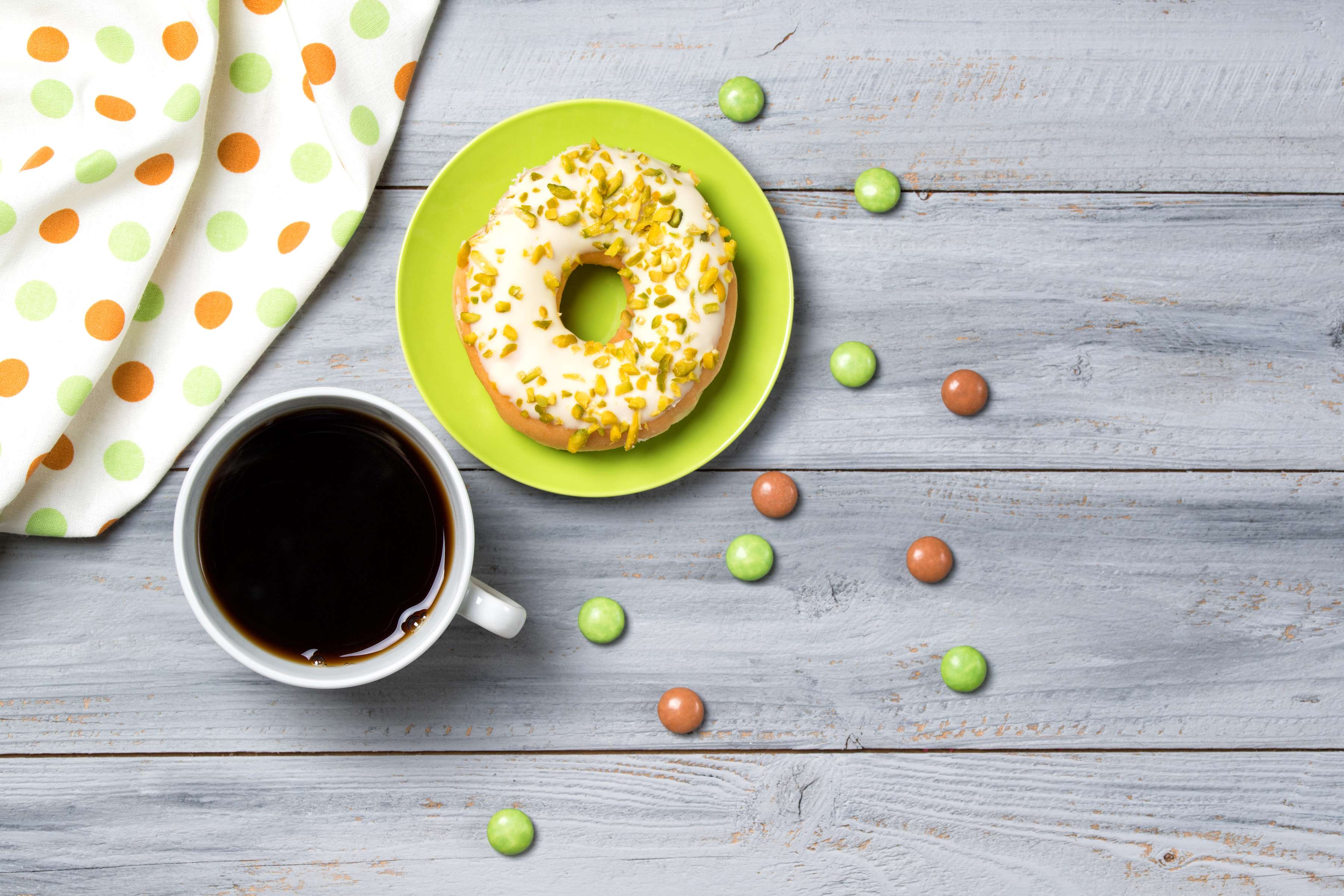 Baked Pistachio Donuts Recipe