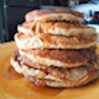 Banana Cinnamon Pancakes Recipe