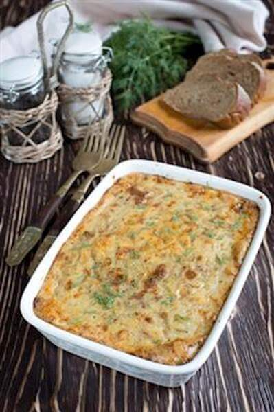 Beef & Cabbage Casserole Recipe