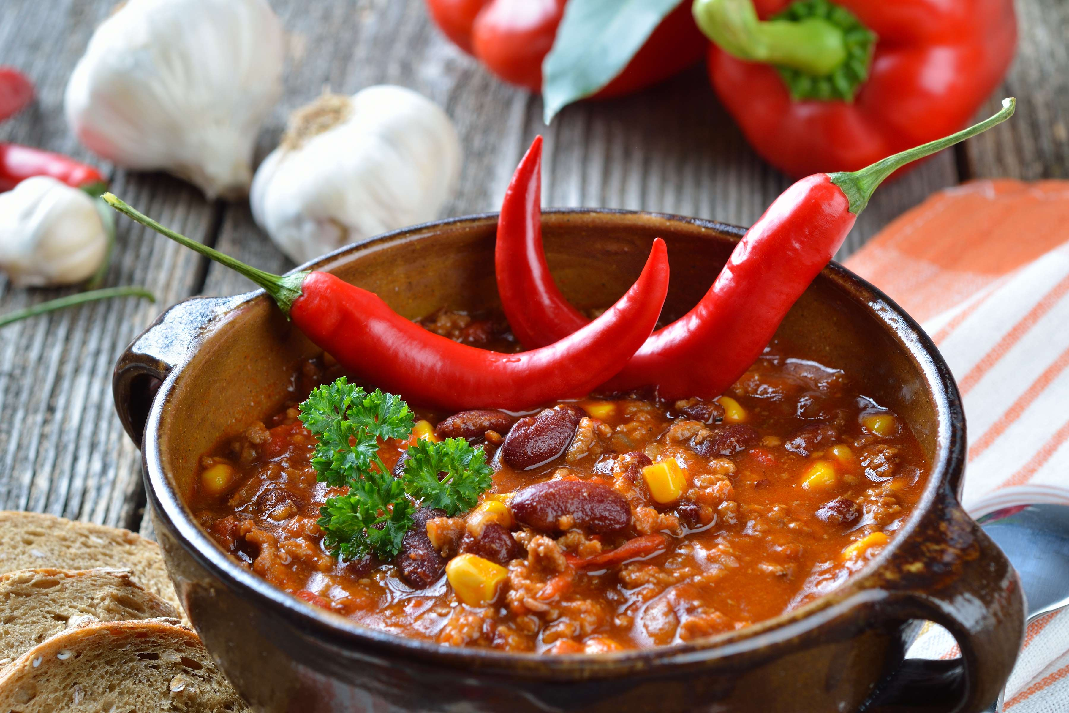 Beef And Pork Spicy Chili Recipe