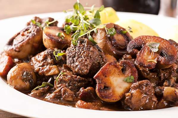 RecipeSavants - Julia's Modern Instapot Beef Bourguignon