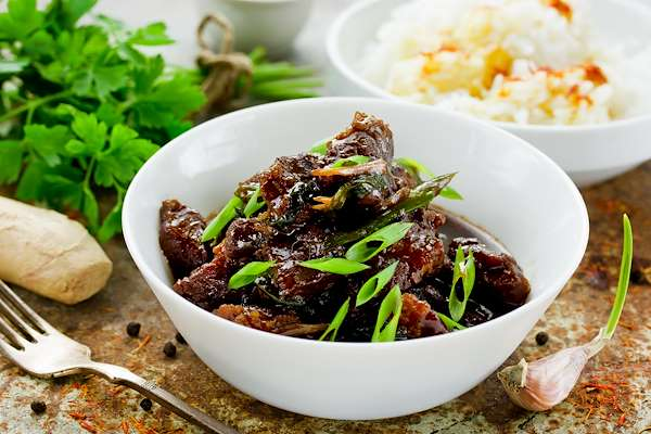 Beef With Soy & Ginger Sauce Recipe