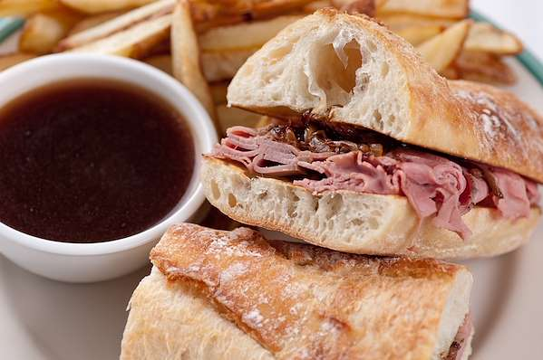 ChefBear Complete Meals - Beer And Onion French Dip Sandwich