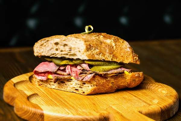Beer & Pastrami Sandwich Recipe