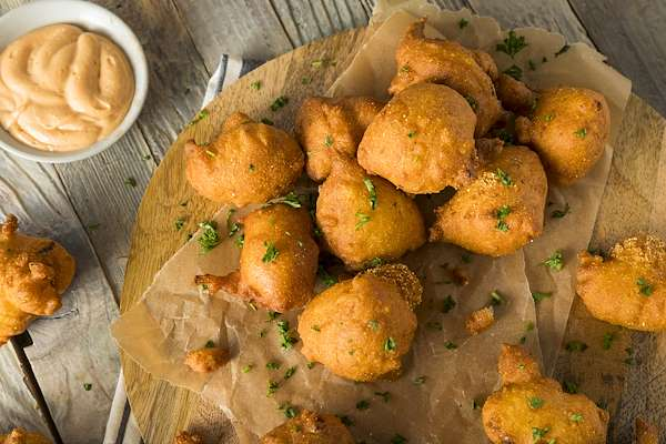 Beer-Batter Hush Puppies Recipe