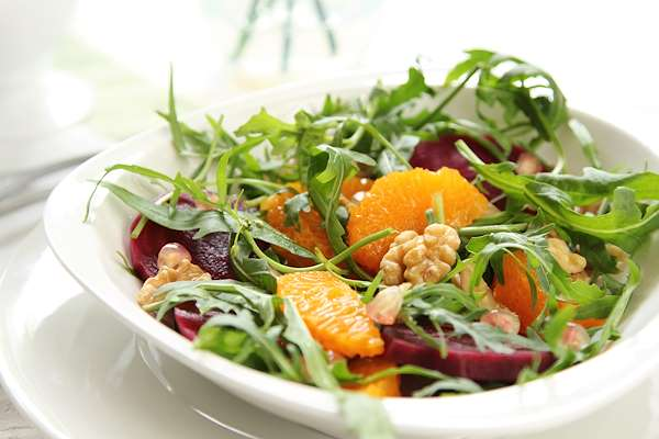Beet & Pomegranate Seed Salad Recipe