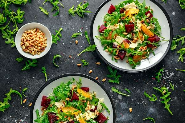 Beet Salad With Red Onions & Pistachios Recipe