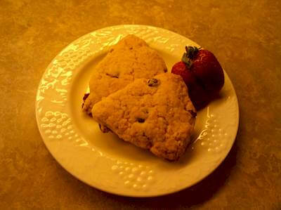 Brown & Raisan Scones Recipe