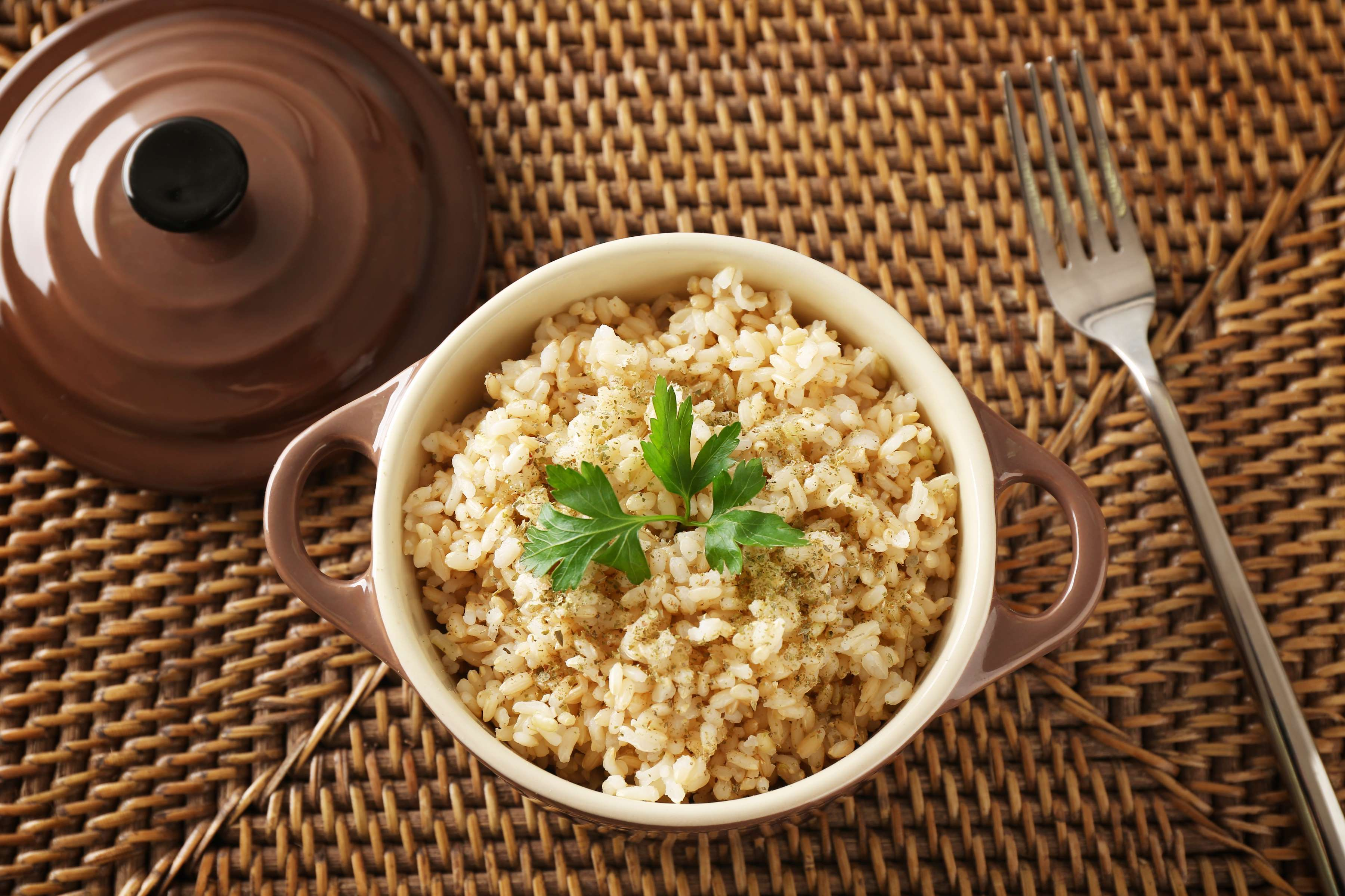 Lemon Brown Rice Recipe | RecipeSavants.com