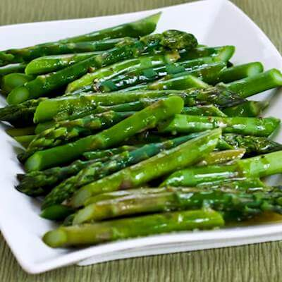 Brown Sugar & Soy Asparagus Recipe