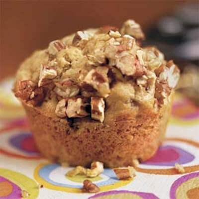 Brown Sugar-Banana Muffins Recipe