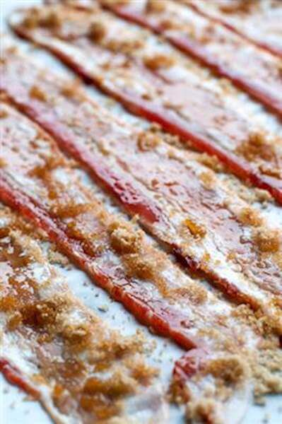 Brown Sugar-Glazed Bacon Recipe