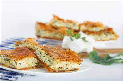 Bulgarian Cheese Pie Appetizers Recipe