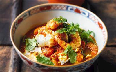 Burmese Tomato Fish Curry Recipe