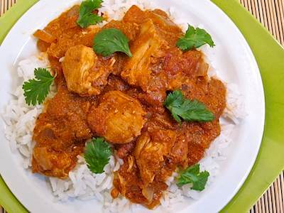 Butter Chicken With Jasmine Rice Recipe