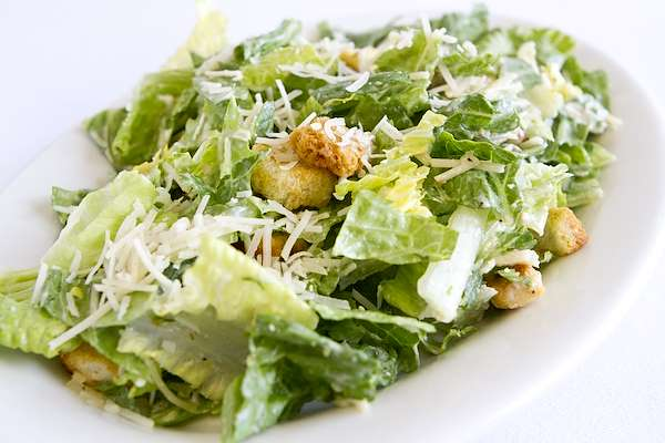 RecipeSavants - Caesar Salad With Homemade Dressing