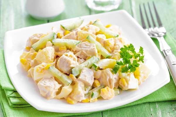 ChefBear Complete Meals - caribbean chicken salad