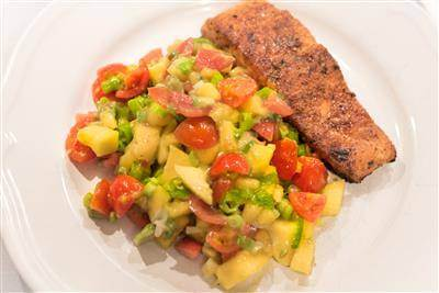 Caribbean Fish With Mango Salsa Recipe