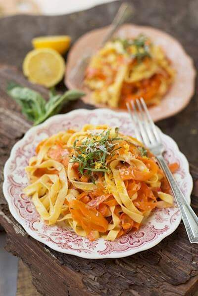 Carrot Fettuccine Recipe