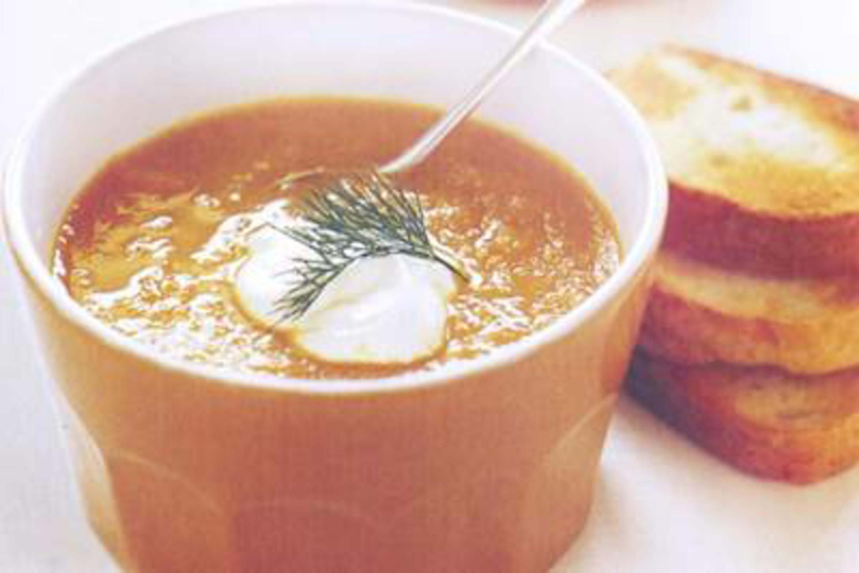 Carrot Soup Recipe | RecipeSavants.com