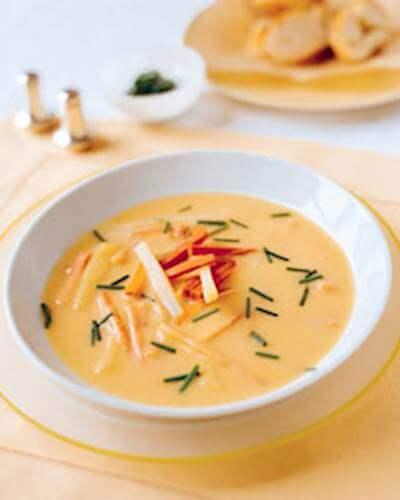 Carrot Vichyssoise Recipe