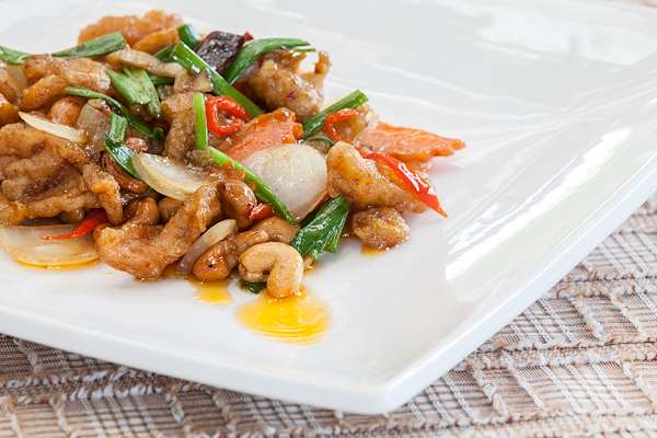 Orginal Recipe For Thai Inspired Cashew Chicken - easy Asian recipe easy Chicken,Vegetables recipe