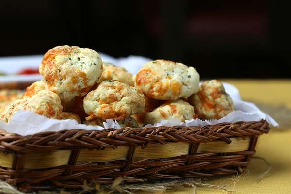 Cheese & Bacon Biscuits Recipe