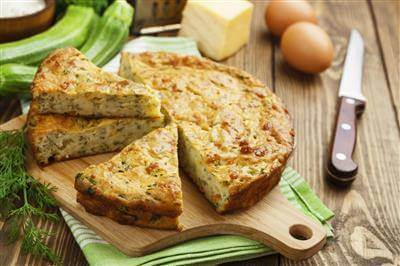 Cheese & Zucchini Pie Recipe