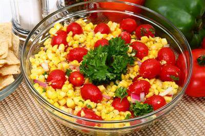 ChefBear Complete Meals - Cherry Tomato Corn Salad