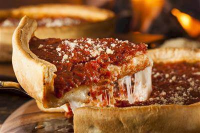 Chicago-Style Deep-Dish Pizza Recipe