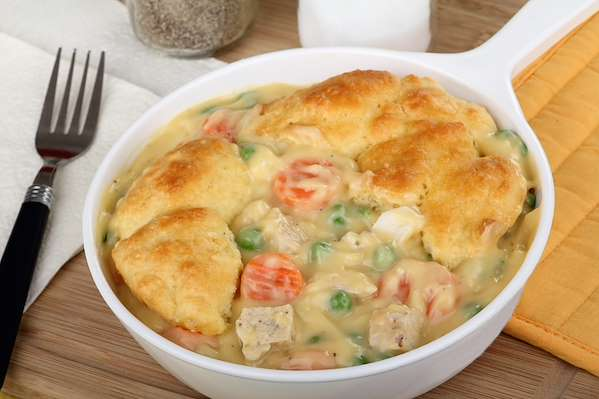Chicken & Biscuit Pot Pie Recipe