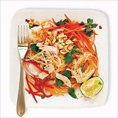 Chicken & Cellophane Noodle Salad Recipe