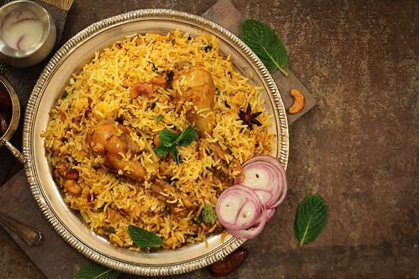 Orginal Recipe For Chicken Biryani - easy Indian recipe easy Chicken recipe
